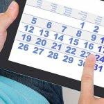 Calendario 2017 - Residenciales